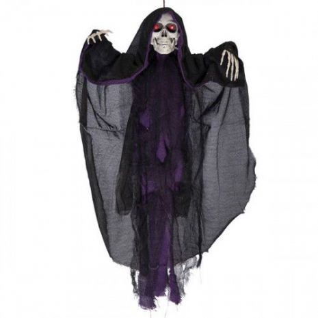 Decorative Hanging Skeleton Sound & Move Halloween Walking Dead Trick Or Treat